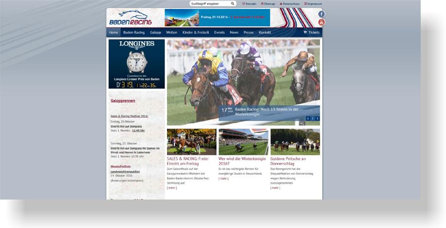 Werbeagentur Bühl Baden Racing